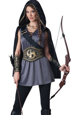 InCharacter Costumes Women's Huntress