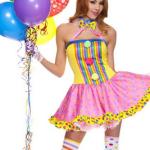 sexy clown costume